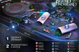 Beyond Wonderland Map