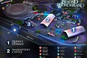 Beyond Wonderland Map