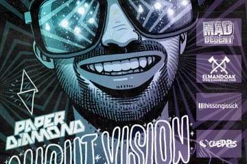Paper Diamond Night Vision Tour Mix 2012