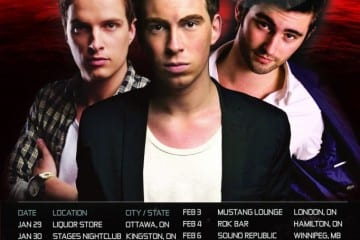 Hardwell Revealed Bus Tour