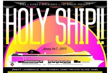 holy ship-schedule-youredm