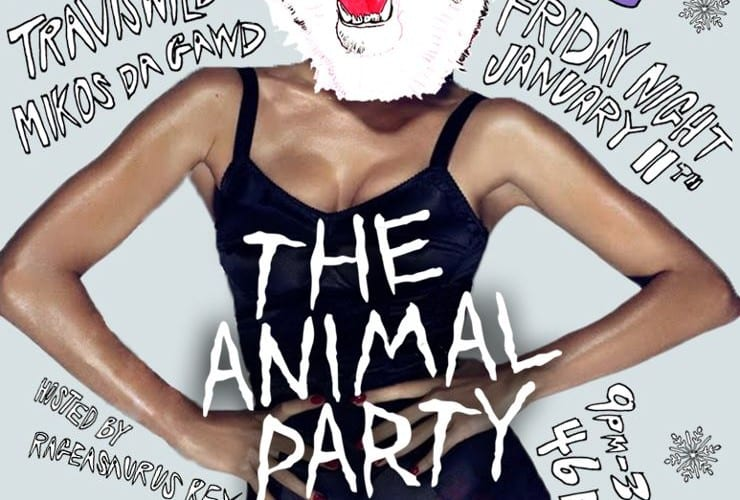 Animal Party Arctic Whiteout Harlot San Francisco 1/11