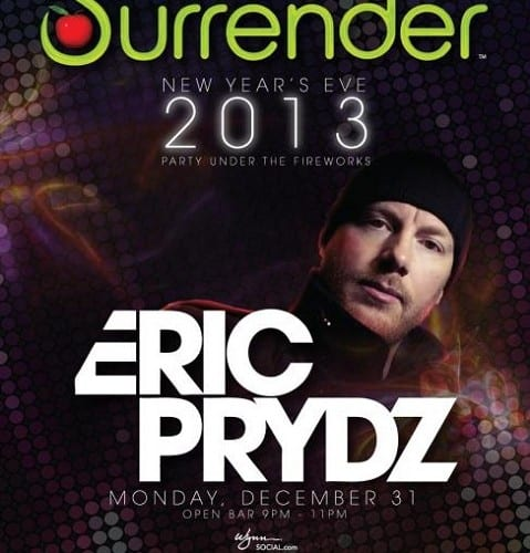 Eric Prydz Surrender NYE 2013