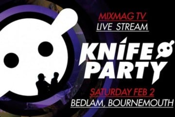 Knife Party Streaming Live From London's O2 Academia