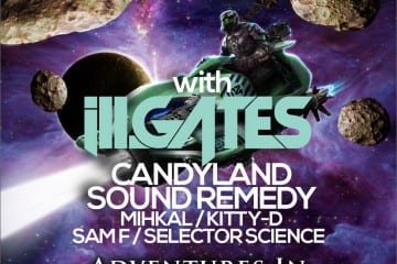 Figure, ill.Gates, Candyland @ DNA Lounge