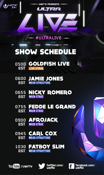 Ultra Music Festival 2013 Live Stream: Weekend 1 | Your EDM