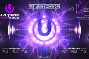 Ultra Music Festival Unveil Set Times