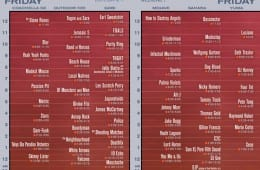Coachella 2013 Weekend 1 Set Times Released