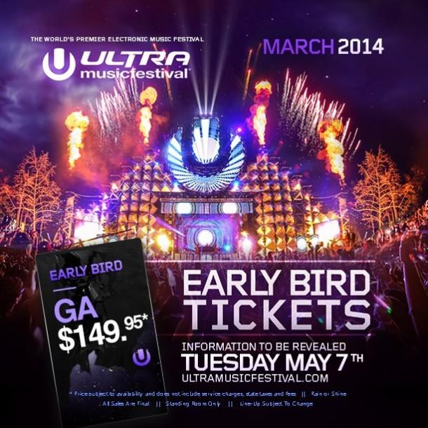 Ultra Music Festival Announcement