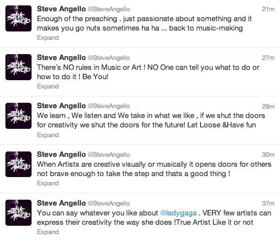Steve Angello, Lady Gaga, Your EDM
