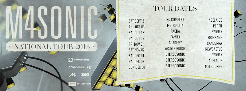 M4SONIC Fall Tour Dates - Your EDM