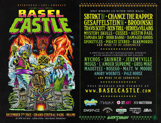 Basel_Castle_2013_Lineup_Flyer