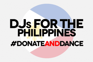 Donate and Dance_DJs for the Philippines