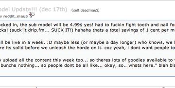 Deadmau5 On Reddit About 'Suckscription' - Your EDM