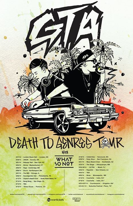 GTA's Death To Genres Tour - Your EDM