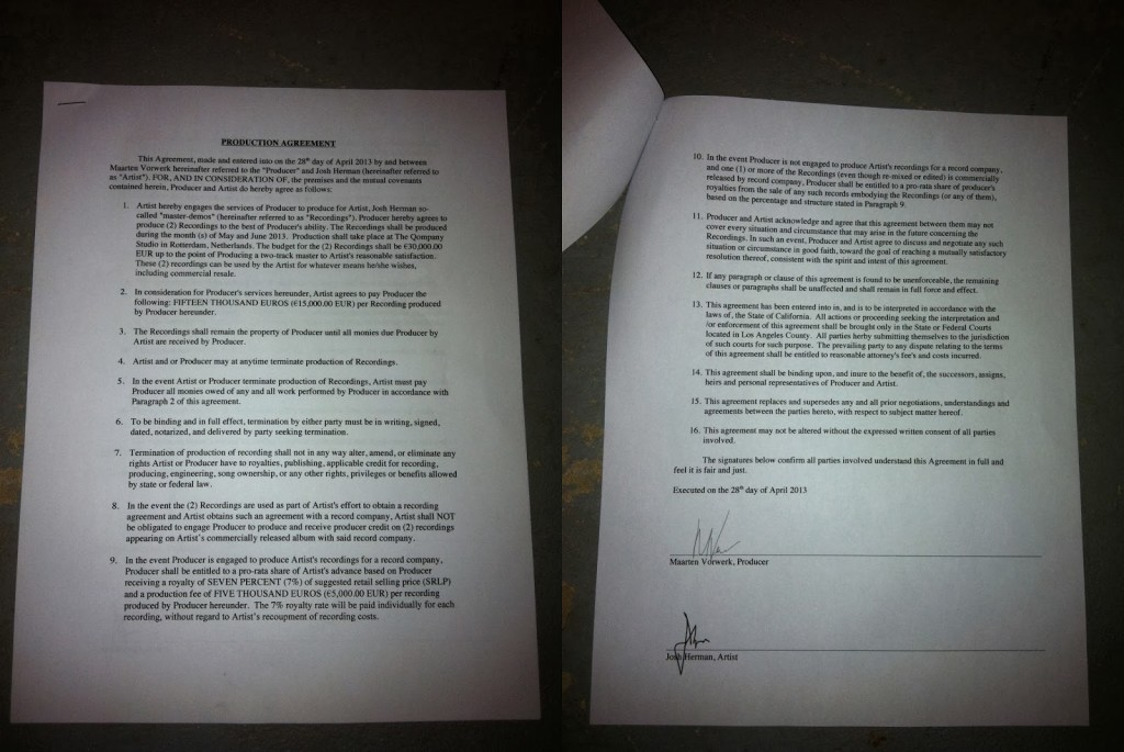 What'S In A Contract? Fake Photo Of Maarten Vorwerk'S Ghost