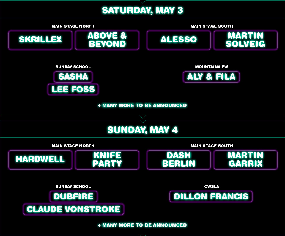 Electric Zoo Mexico Tickets Soon, Event Trailer & Lineup