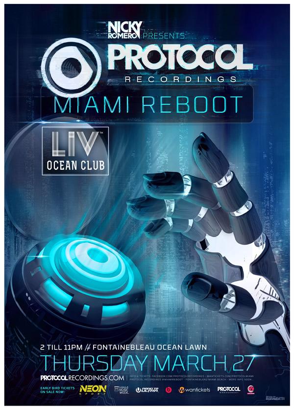 Nicky Romero and Protcol Recordings Miami Reboot