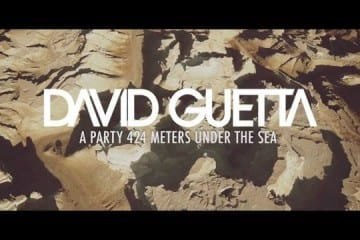 David Guetta Celebrates 50 Million Facebook Fans with Dead Sea Rave Video