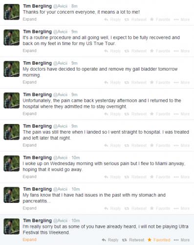 Tim Bergling  Avicii  on Twitter