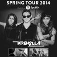 Verge Campus Spring Tour 2014 Poster
