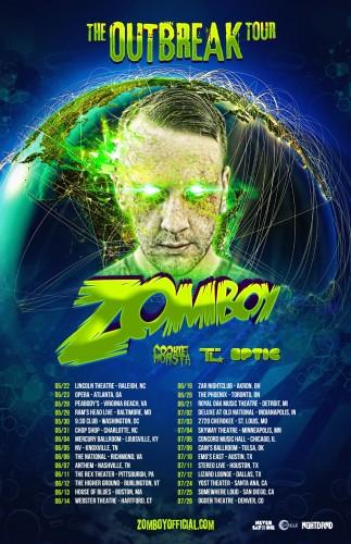 Zomboy The Outbreak Tour