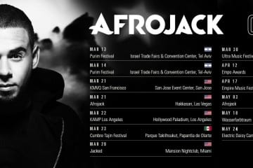 afrojack on tour