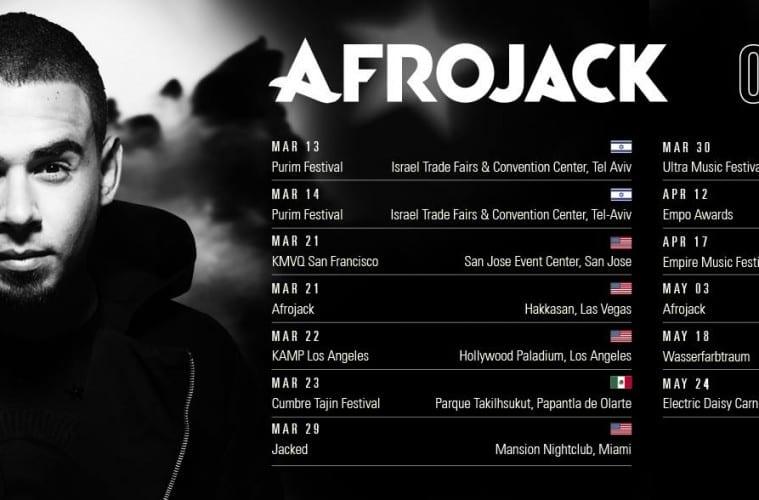 afrojack on tour