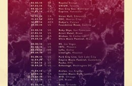 cazzette north america tour dates