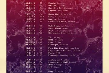cazzette north america tour dates