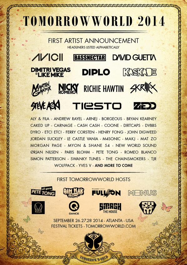 tomorrowworld-line-up-2014-edm