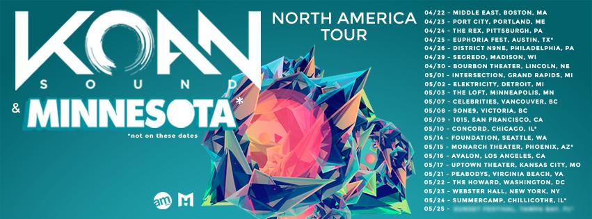 Koan Sound & Minnesota NA Tour