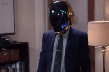 daft punk cameo parks and recreation aziz ansari