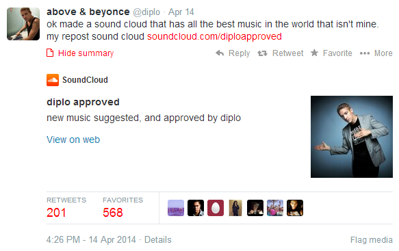 diplo approved soundcloud