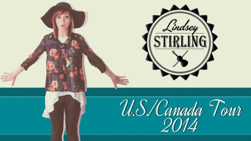 Lindsey Stirling 2014 Tour