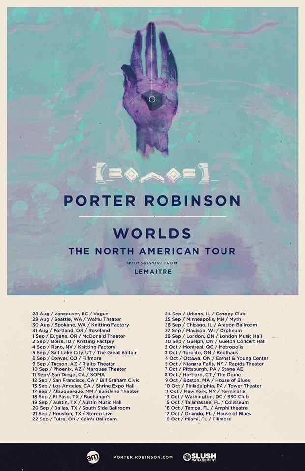 Porter Robinson Worlds Tour Set