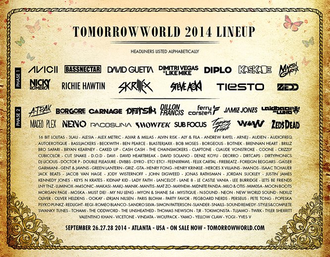 tomorrowworld-full-line-up-2014
