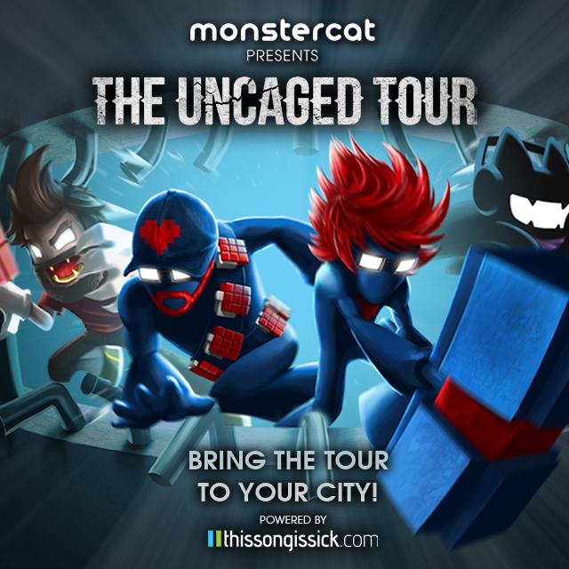 Monstercat Uncaged Tour Phase One Tour Dates