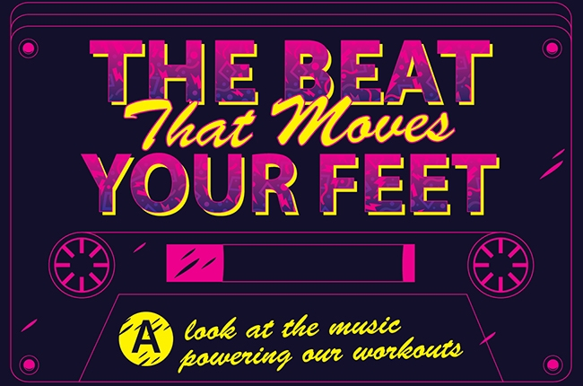 billboard beat that moves your feet workout playlist infographic 2