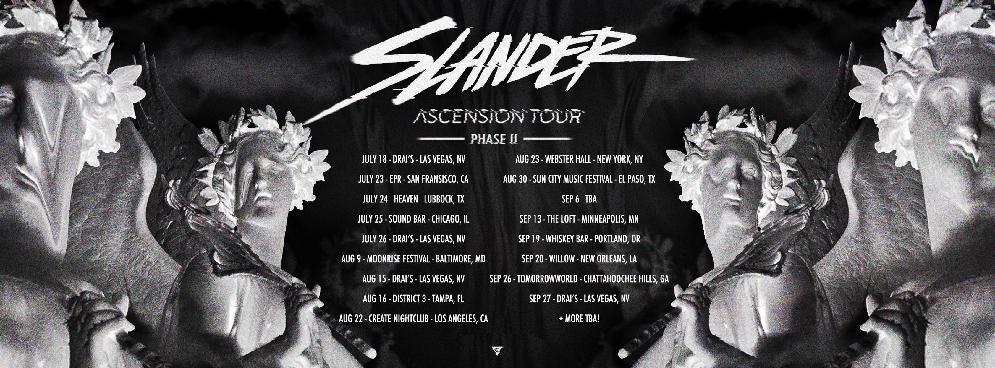 slander tour