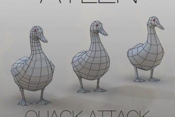 00 - Aylen Quack Attack Cover 1500