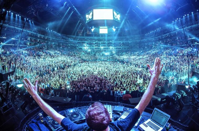 Large EDM Concert