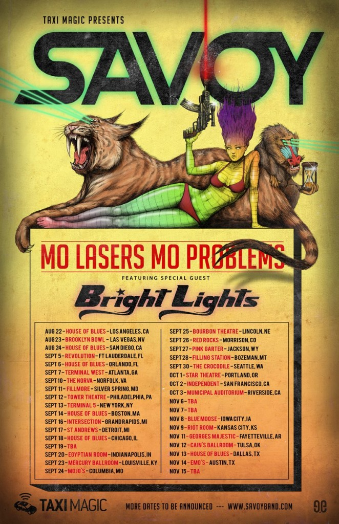 Mo Lasers Mo Problems tour