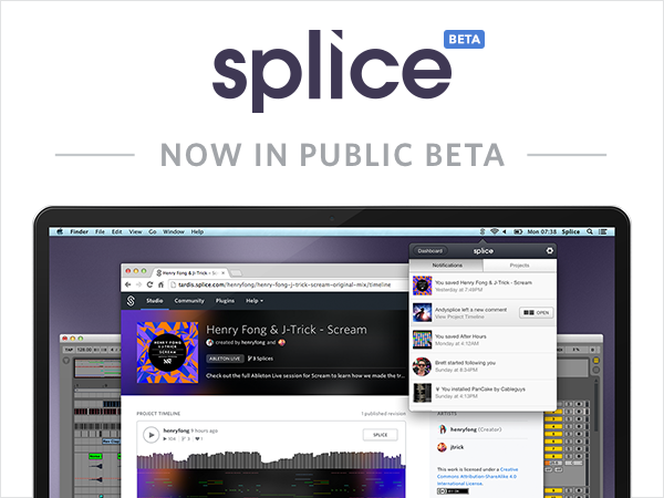 Music Collaboration Service Splice Enters Public Beta With New DNA Player