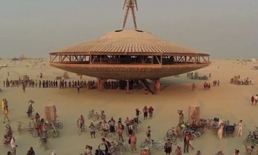 Burning Man From The Sky... Via Drone
