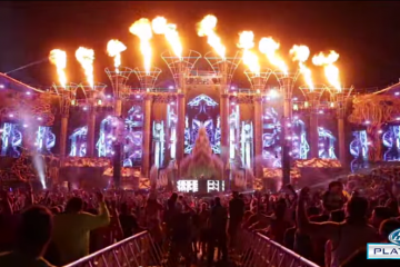 edc vegas production behind the scenes