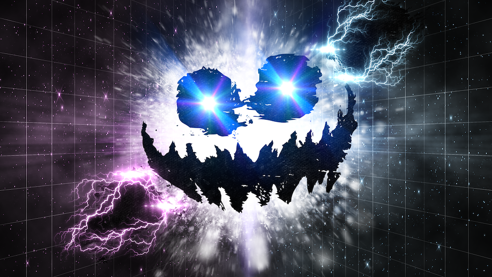 Knife Party Haunted House Album Cover Knife Party Haunted House by