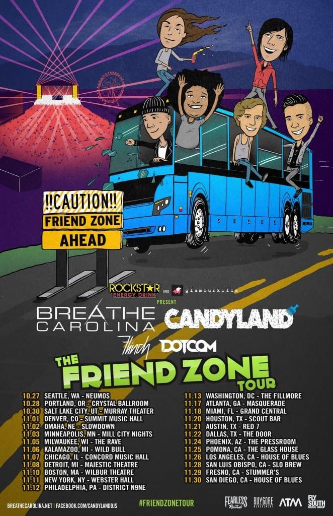 the friend zone tour