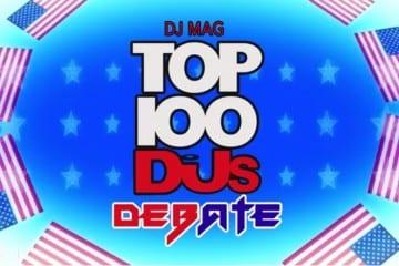 top 100 djs debate