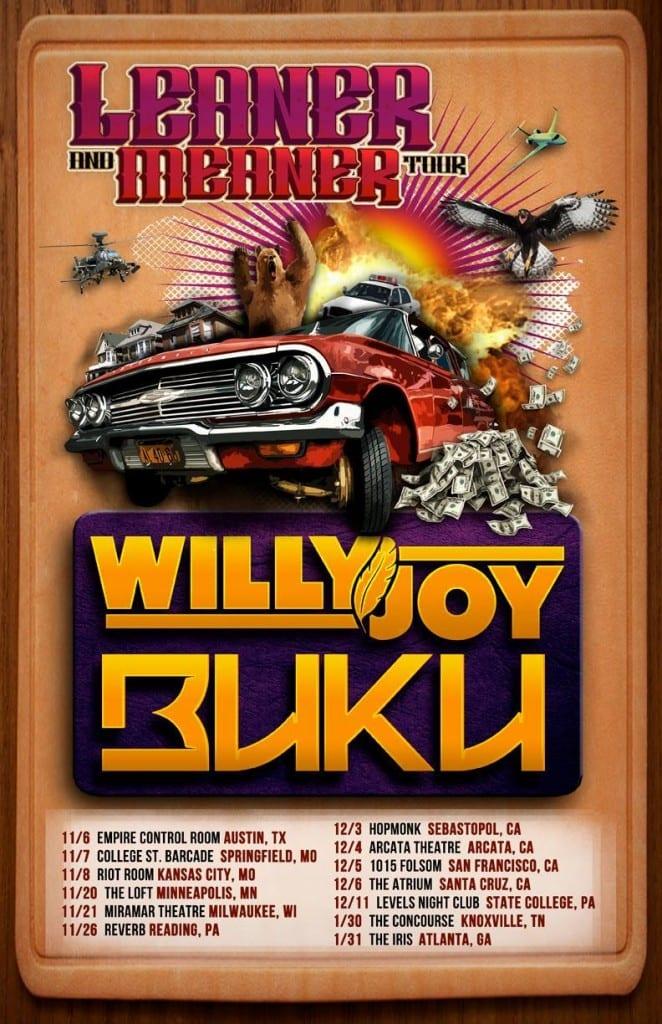 Buku_x_Willy_Joy_Tour
